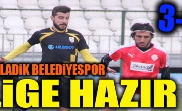 LADİK BELEDİYESPOR LİGE HAZIR..