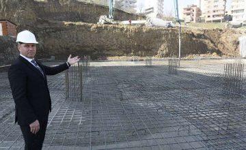 Togar ''Kutlukent'e Bölgede ilk olacak örnek bir tesis kazandırıyoruz''