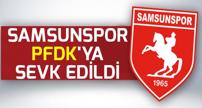 SAMSUNSPOR'A PFDK ŞOKU