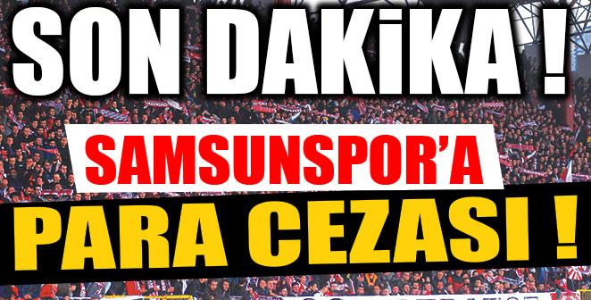 TFF'den Samsunspor'a Para Cezası