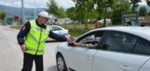 Polis Bu Kez Emniyet Kemeri Uygulaması Yaptı