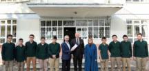 Başkan Togar, 24 Kasım dolayısıyla Öğretmenleri ziyaret etti