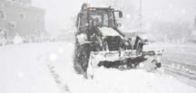 Tekkeköy Belediyesi karla mücadele çalışmalarına hızlı başladı