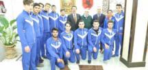 Başkan Tok, Başarılı Sporcuları Makamında Ağırladı…