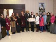 Başkan Togar Eşi Yasemin Togar İle Birlikte Kursiyerleri Ziyaret Etti