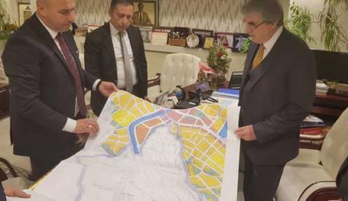 Başkan Togar ile Öztürk, Yeni Projeler İçin Destek İstedi
