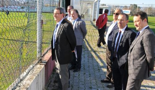 SAMSUN TSO'DAN SAMSUNSPOR'A BAKIM ONARIM DESTEĞİ