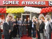 Tekkeköy'de yeni iş yeri açılışı