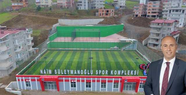 Tekkeköy Naim Süleymanoğlu Spor Kompleksi yakında açılıyor