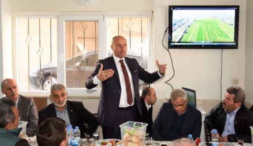 Başkan Togar'dan Sanayi esnafına müjde