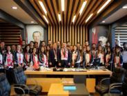 """Başkan Taşçı'dan OMÜ'lülere davet, """"Haydi Samsun tribüne"""""""