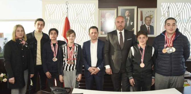 Başkan Togar, Şampiyonları Ağırladı