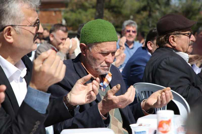 Atakum Afrin Zaferini dualarla kutladı