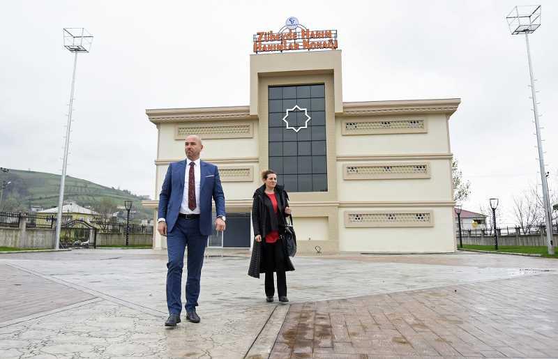 Tekkeköy Aşağıçinik Hanımlar Konağı Açılış için gün sayıyor
