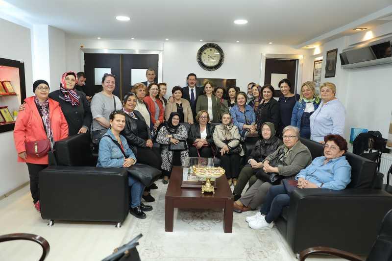 Kursiyerlerin sergisinden Mehmetçiğe anlamlı destek