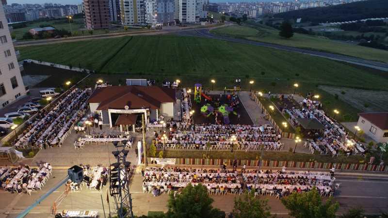 Atatepe'de Mahalle İftarı buluşması