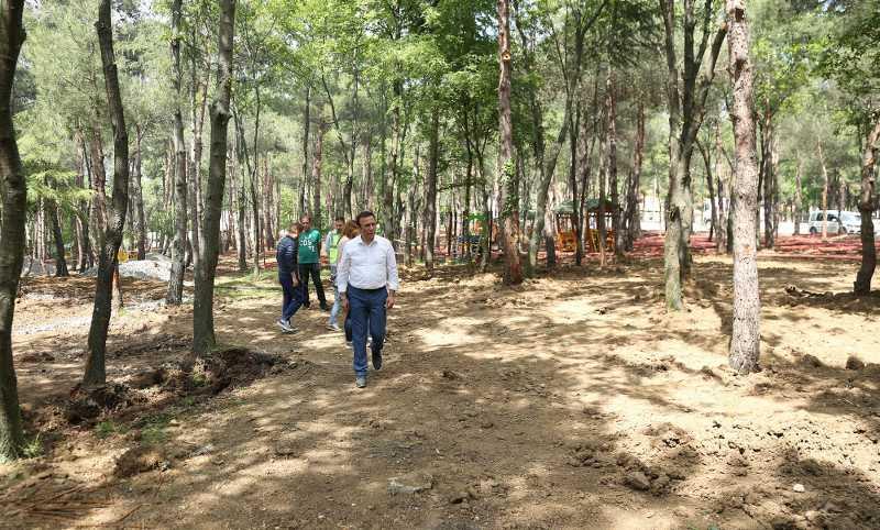 Meşe Orman Park büyüyor