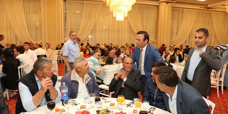 AK Parti ailesi Canik'te buluştu