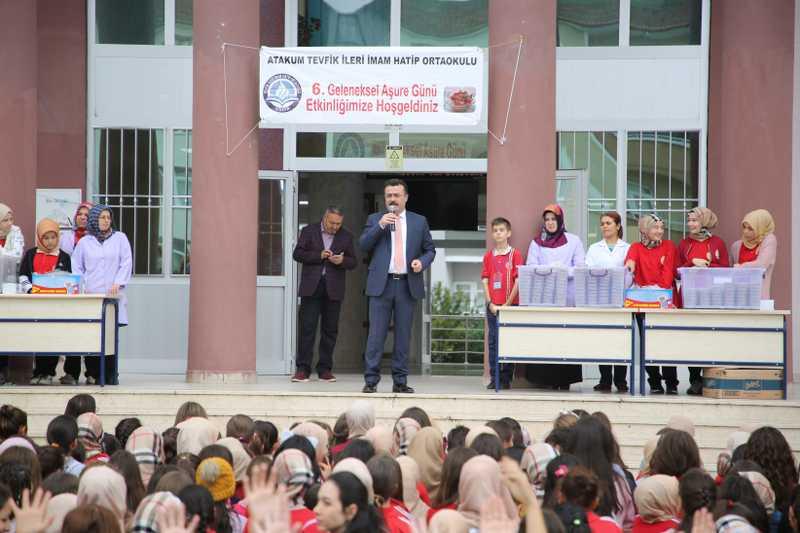 Atakum'da eğitime büyük destek. 4,5 yılda 10 milyonluk yatırım
