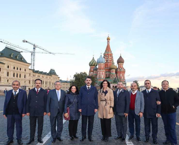 SAMSUN MİLLETVEKİLİ KARAASLAN, MOSKOVA'DA