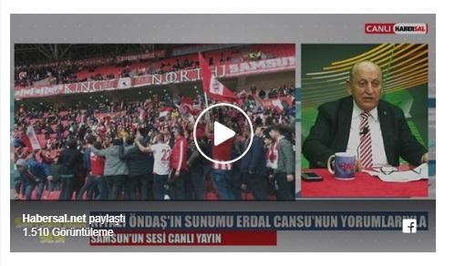 SAMSUNUN SESİ YİNE DOP DOLU..