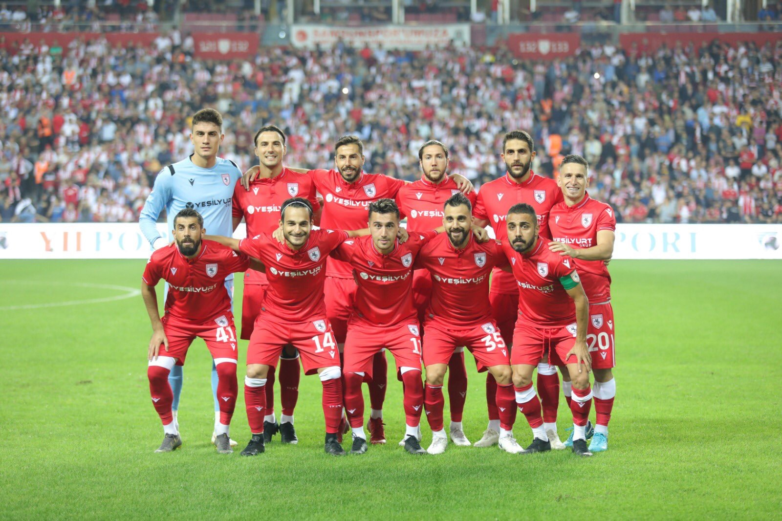 İşte Samsunspor'un İlk 11'i..