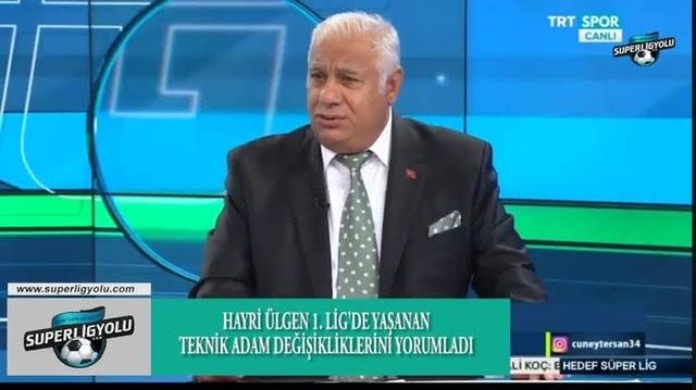 HAYRİ ÜLGEN'DEN FLAŞ SAMSUNSPOR AÇIKLAMASI