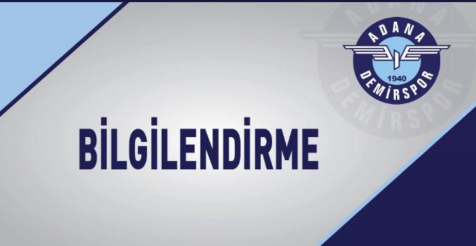 A.DEMİRSPORDA 2 FUTBOLCU SAMSUN MAÇINDA YOK