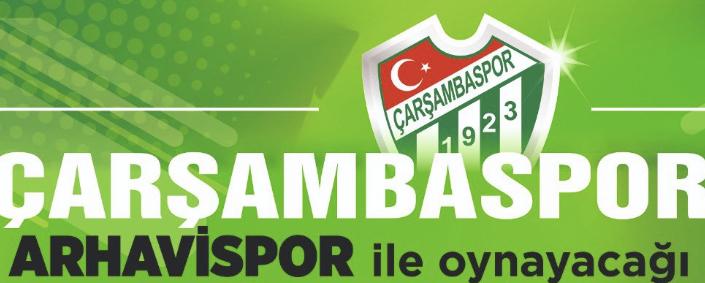 ÇARŞAMBASPOR-ARHAVİSPOR CANLI İZLE