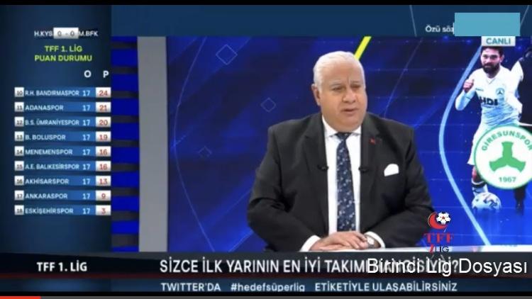 HAYRİ ÜLGEN'DEN SAMSUNSPOR'UN TRANSFERLERİNE ÖVGÜLER