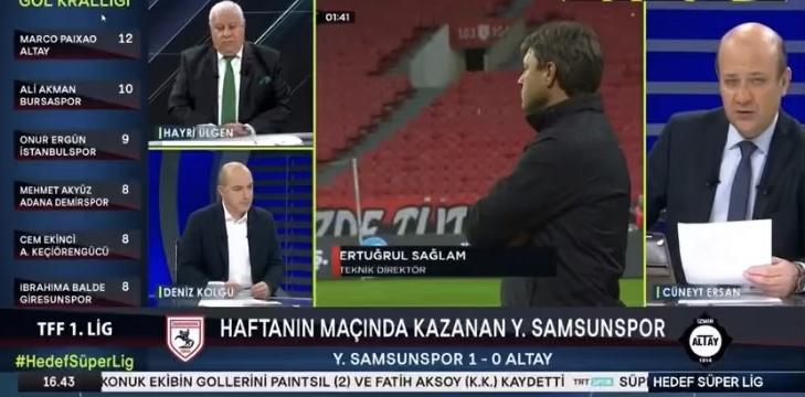 TRTSPOR YORUMCULARINDAN SAMSUNSPOR'A TEBRİK
