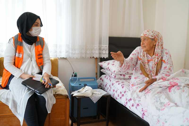 Terme'de 5 BİN kişiye yardım