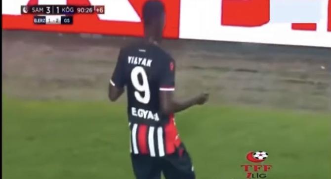 İşte Edwin Gyasi'nin attığı tek gol