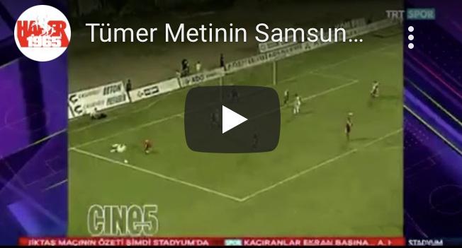 TÜMER METİN'İN SAMSUNSPOR ANILARI TRTSPOR'DA