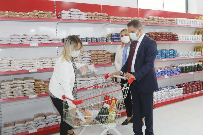 Atakum Belediyesi AtaMarket Gıda Bankası'nın ilk üç ayı: 268 kez alışveriş yapıldı