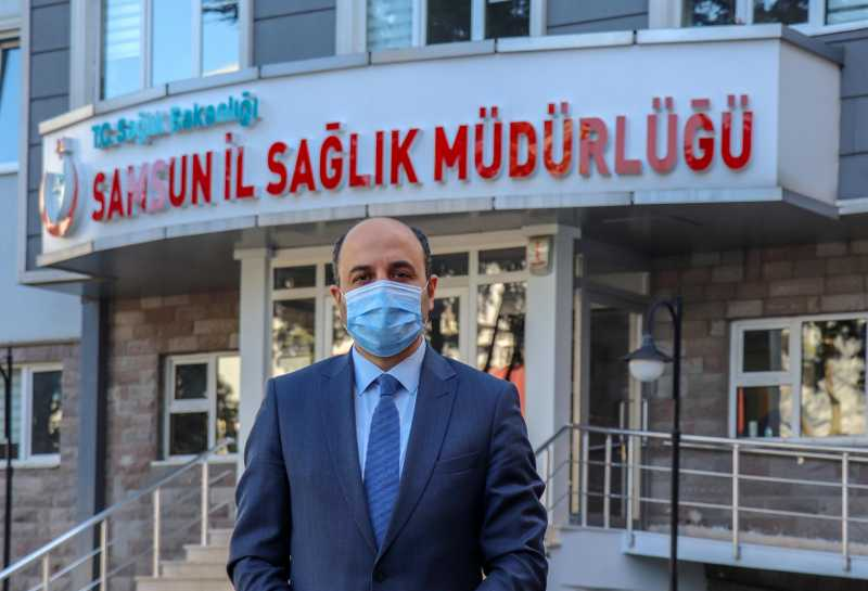 İl Sağlık Müdürü Muhammet Ali Oruç'tan aşı açıklaması