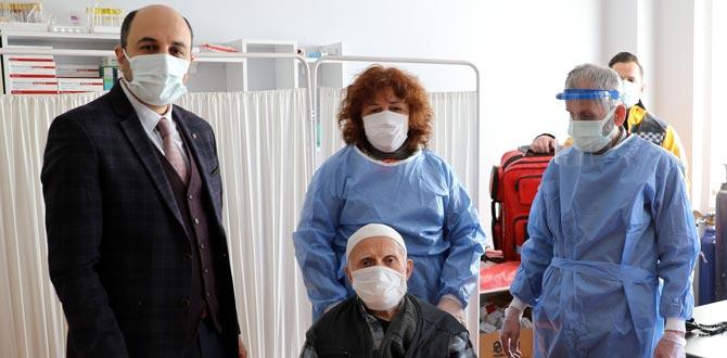 Samsun İl Sağlık Müdürü Oruç'tan aşı ve koronavirüs açıklaması