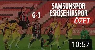 Samsunspor-Eskişehirspor Geniş Özet