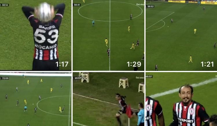 Samsunspor-Eskişehirspor 6-1 Goller
