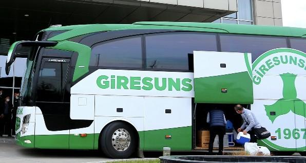 Giresunspor Takım Otobüsüne Saldırı