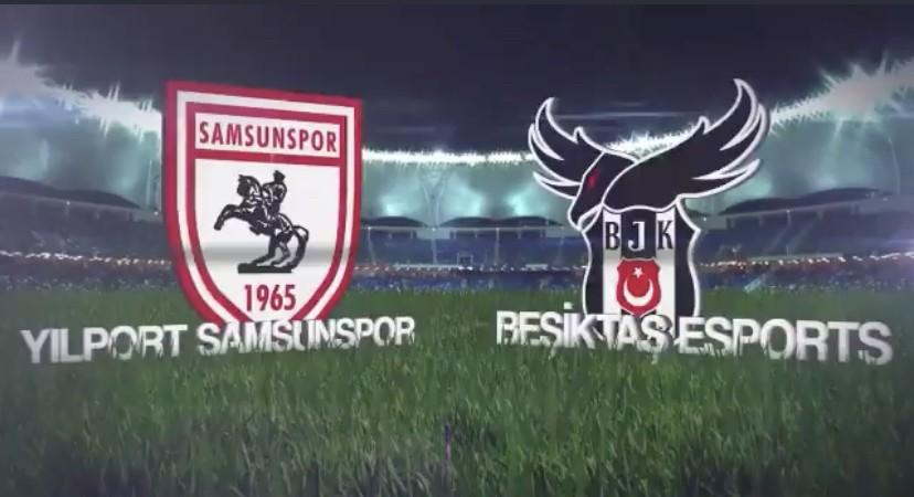 Samsunspor-Beşiktaş 1-1 Maç Özeti