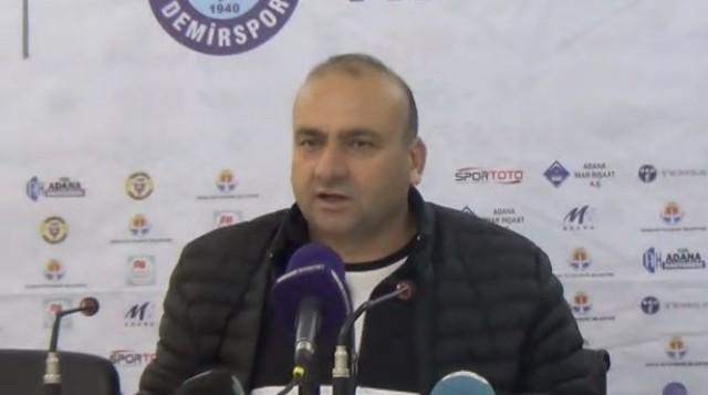 Adana Demirspor'un eski hocasından Samsunspor açıklaması