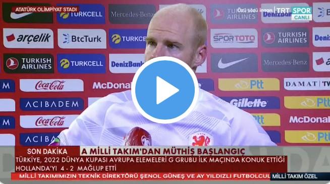 Hollandalı Futbolcudan Türkiye İtirafı