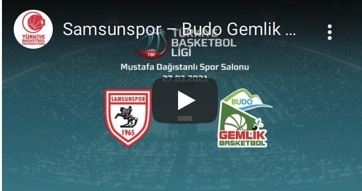 Lider Samsunspor-Budo Gemik Maçı Canlı İzle