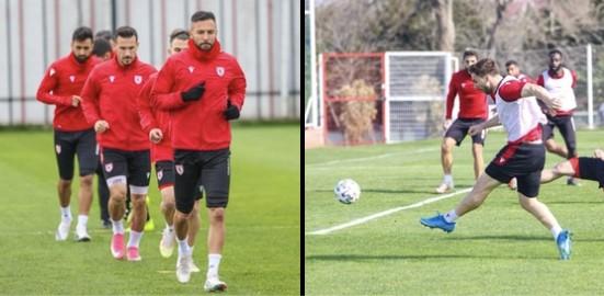 Samsunspor'da 2 Futbolcu İlk 11'e Dönüyor