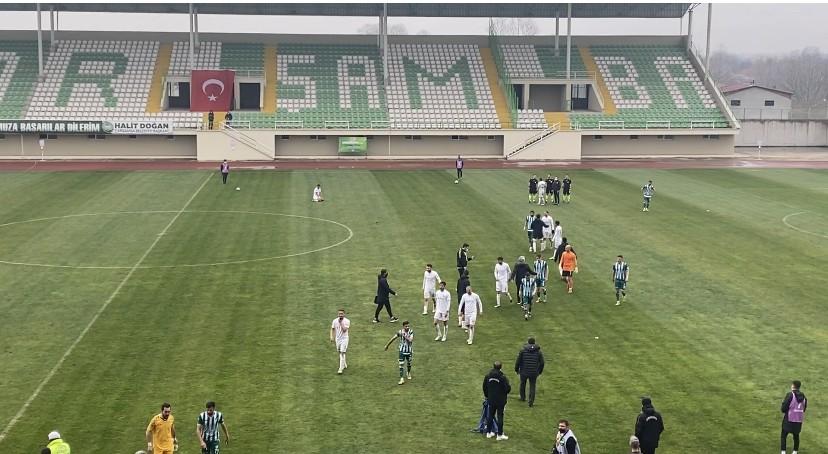 Çarşambaspor'da Büyük Şok
