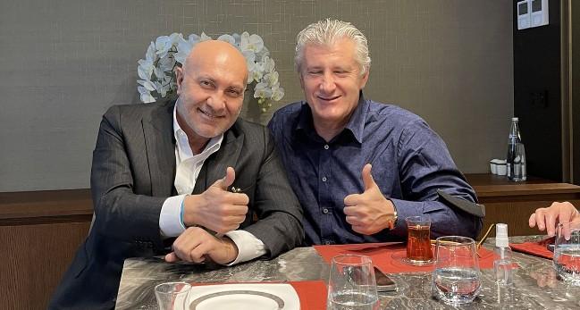 Yüksel Yıldırım Hırvat Futbol Efsanesiyle Bir Araya Geldi