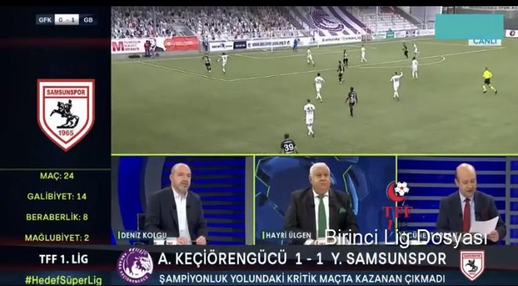 Trtspor'da Samsunspor ve Penaltı Pozisyonu Yorumu