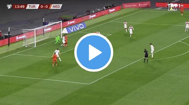 Türkiye-Hollanda 4-2 Goller
