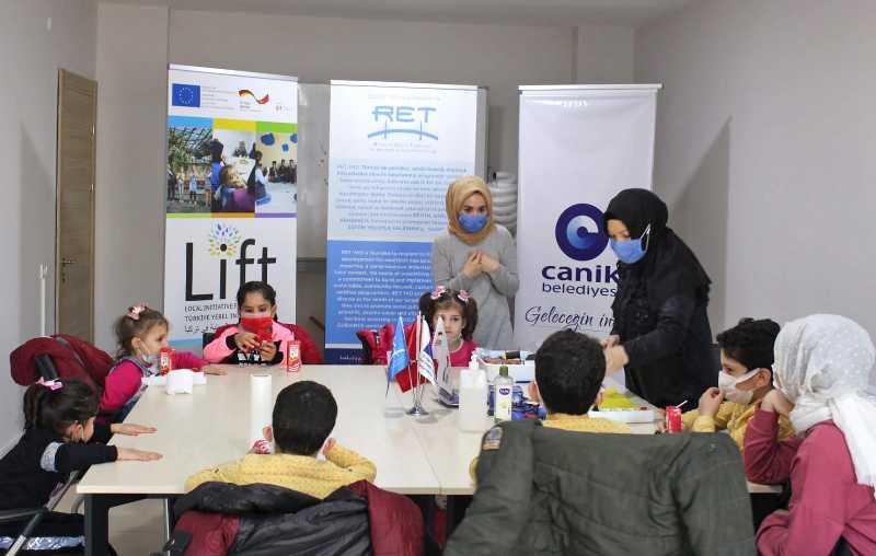 Canik'te 'Benim Hayatım Toplum Merkezi'